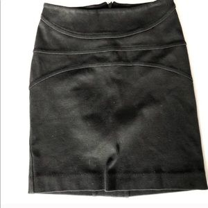 Citizens Of Humanity Black Mini Skirt